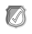 Approval check icon vector image vector image
