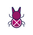 bug virus infection icon vector image vector image