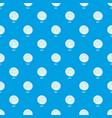 bun pattern seamless blue vector image vector image