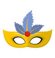 carnival icon flat style vector image vector image