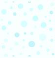cyan circle pattern seamless vector image vector image