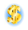 dollar vector image vector image