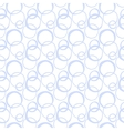 Seamless pattern with painted circles vector image