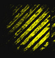 black and yellow lines vector image