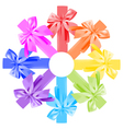 bows round vector image vector image