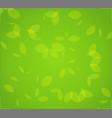 green foliage vector image vector image