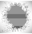 Grey Splat vector image vector image