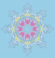 round orament vector image vector image
