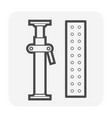 scaffolding part icon vector image vector image