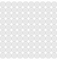 seamless african adinkra pattern vector image