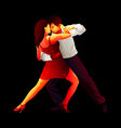 Tango lovers vector image vector image