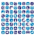 Big color sports icons set vector | Price: 1 Credit (USD $1)