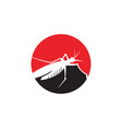 insect mosquito icon template vector image
