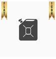 Jerrycan oil icon vector image