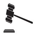 Judge hammerBW1 resize vector image