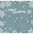 merry christmas vintage greetings vector image vector image