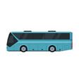 modern passenger bus side view public vector image vector image
