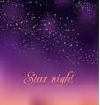 romantic night gradient background vector image