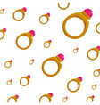 background wallpaper ring gold jewelry gemstone vector image vector image