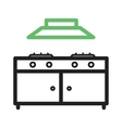 Cooking Stove vector image vector image