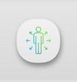 decision management app icon vector image