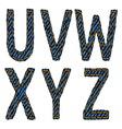 Farmerke tekstura UVXY resize vector image vector image