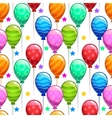 Funny bright birthday party texture vector image vector image