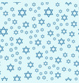 judaism church traditional seamless pattern vector image vector image