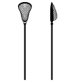 Lacrosse stick vector image vector image