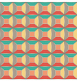 Seamless pattern based on geometric shapes vector image