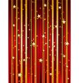 starry festive background vector image vector image