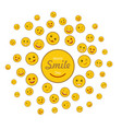 world smile day holiday concept vector image vector image