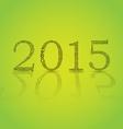 2015 theme vector image