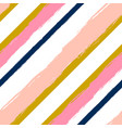 Abstract hand drawn seamless pattern with striped