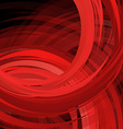Abstract swirl red background vector image vector image