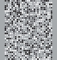 black and white dots vector image