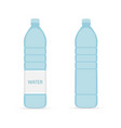 bottle water icon in flat style isolated on vector image vector image