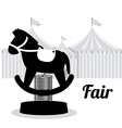 Fair design vector image vector image