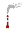 Smoking Chimney vector image