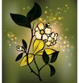Tea plant vector image vector image