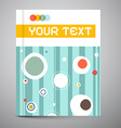 Brochure - Book Template - Layout vector image