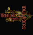 freightliner it s not a truck it s a brand text vector image vector image