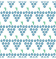 grapes seamless pattern isolated berries vector image
