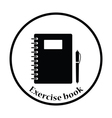 Icon of Exercise book vector image