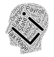 Payroll Oregon Unique Aspects of Oregon Payroll vector image vector image