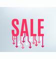 sale banner special offer background vector image