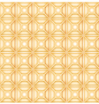Seamless background based on geometric shapes vector image vector image