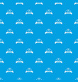 sword warrior pattern seamless blue vector image vector image