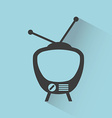 television screen vector image vector image