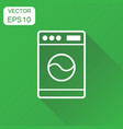 washer icon business concept laundress pictogram vector image vector image